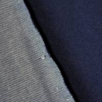 Sommersweat French Terry in Jeansoptik schwarz dunkelblau 50 x 150 cm Sweat  Bild 2