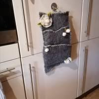 Wandorganizer handgefilzt-Shabby Style Bild 4