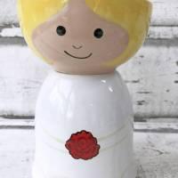 Braut und Bräutigam, Schalen zur Hochzeit, Keramik handbemalt Bild 2