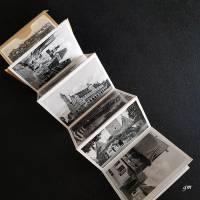 historische Fotografien, vintage, Rothenburg o.T. 10 zusammenhängende kleine Ansichtskarten ca. 1940/50er Jahre Bild 2