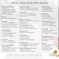 HOCHZEITSPLANER zum Ausdrucken |  Hochzeitsplanung DIY oder Planer für die Trauzeugin | DIN A4 | 170 Seiten Bild 10