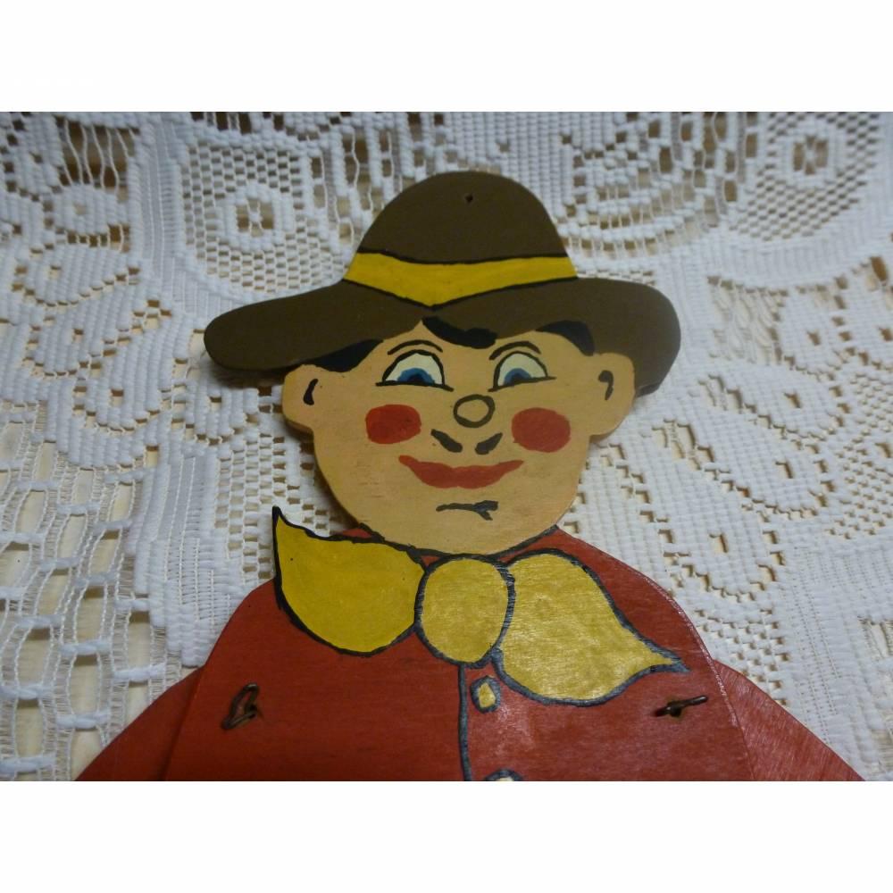 Großer alter Hampelmann aus den 80er Jahren. Bild 1