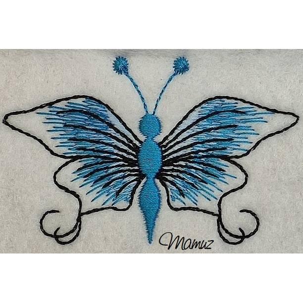 Frühlingsdeko - wunderschöner Schmetterling mit Sprüche - 6 Dateien - versch. Formate Bild 1