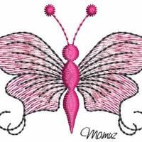 Frühlingsdeko - wunderschöner Schmetterling mit Sprüche - 6 Dateien - versch. Formate Bild 10