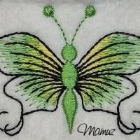 Frühlingsdeko - wunderschöner Schmetterling mit Sprüche - 6 Dateien - versch. Formate Bild 3