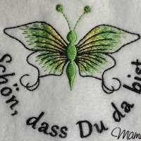 Frühlingsdeko - wunderschöner Schmetterling mit Sprüche - 6 Dateien - versch. Formate Bild 4