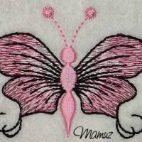 Frühlingsdeko - wunderschöner Schmetterling mit Sprüche - 6 Dateien - versch. Formate Bild 5