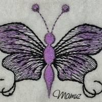 Frühlingsdeko - wunderschöner Schmetterling mit Sprüche - 6 Dateien - versch. Formate Bild 7