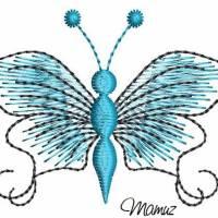 Frühlingsdeko - wunderschöner Schmetterling mit Sprüche - 6 Dateien - versch. Formate Bild 9