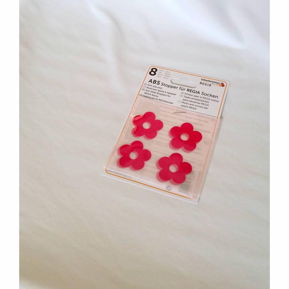 Regia ABS Stopper für REGIA Socken 8 Stk.  Blume Bild 1