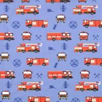 Jersey Baumwolljersey Feuerwehr blau Oeko-Tex Standard 100(1m/12,-€) Bild 1