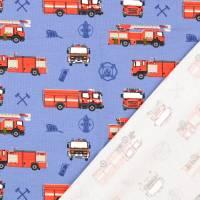 Jersey Baumwolljersey Feuerwehr blau Oeko-Tex Standard 100(1m/12,-€) Bild 2