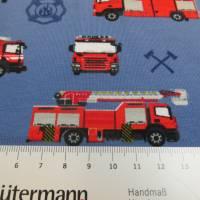Jersey Baumwolljersey Feuerwehr blau Oeko-Tex Standard 100(1m/12,-€) Bild 4