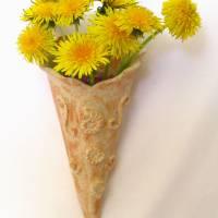 Wandvase Vase Blumenvase Wandhänger Bild 1
