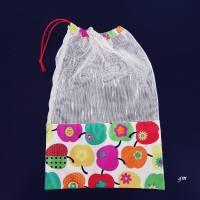nachhaltiger Stoffbeutel für Obst oder Gemüse, Allzweckbeutel, Mehrweg-Stoffbeutel Bild 1