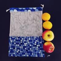 Obstbeutel, Stoffbeutel für Gemüse und Obst, Allzweckbeutel, Mehrweg-Stoffbeutel Bild 3