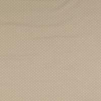 Baumwoll Jersey Punkte Dots beige Oeko-Tex Standard 100(1m/12,-€) Bild 3