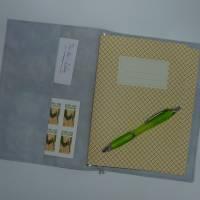 Travelers Notebook A5 Schmetterlinge Scrapbooking Tagebuch Planer Journal Kalender Notizheft Hülle Bild 2