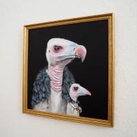 Der Geierfrosch, Froschbild, witziges Bild, Geierbild, Raubvogel, Vogelbild, Froschkönig Bild 8