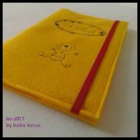 U-Heft-Hülle BABYBOY in gelb von he-ART by helen hesse Bild 4