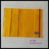U-Heft-Hülle BABYBOY in gelb von he-ART by helen hesse Bild 7