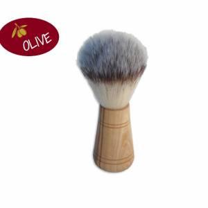 Rasierpinsel PAUL aus Olivenholz – für die Rasur, Bart, Mann, Bad, Wellness, Pflege, Geschenk Bild 1