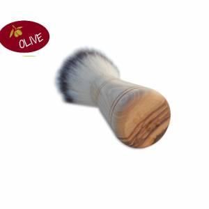 Rasierpinsel PAUL aus Olivenholz – für die Rasur, Bart, Mann, Bad, Wellness, Pflege, Geschenk Bild 2