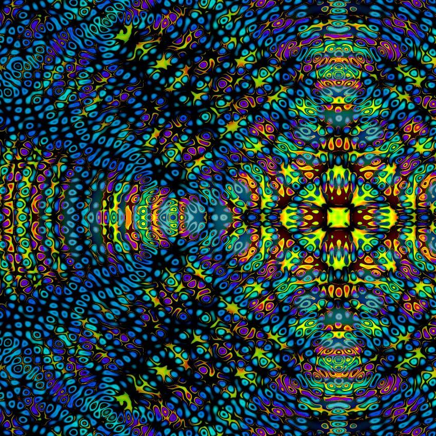 Zart scheinende Energieteilchen - Digital-ART - Kunstwerk 1/10 Bild 1