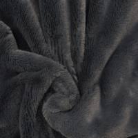 Kunstfell Fellimitat dunkelgrau (1m/14,-€) Bild 1
