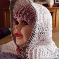 Gehäkelte Kleinkind Jacke aus BioBaumwolle Bild 3