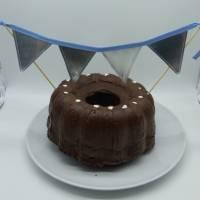 Wimpelkette, klein, für den Geburtstagskuchen, Upcycling Bild 1