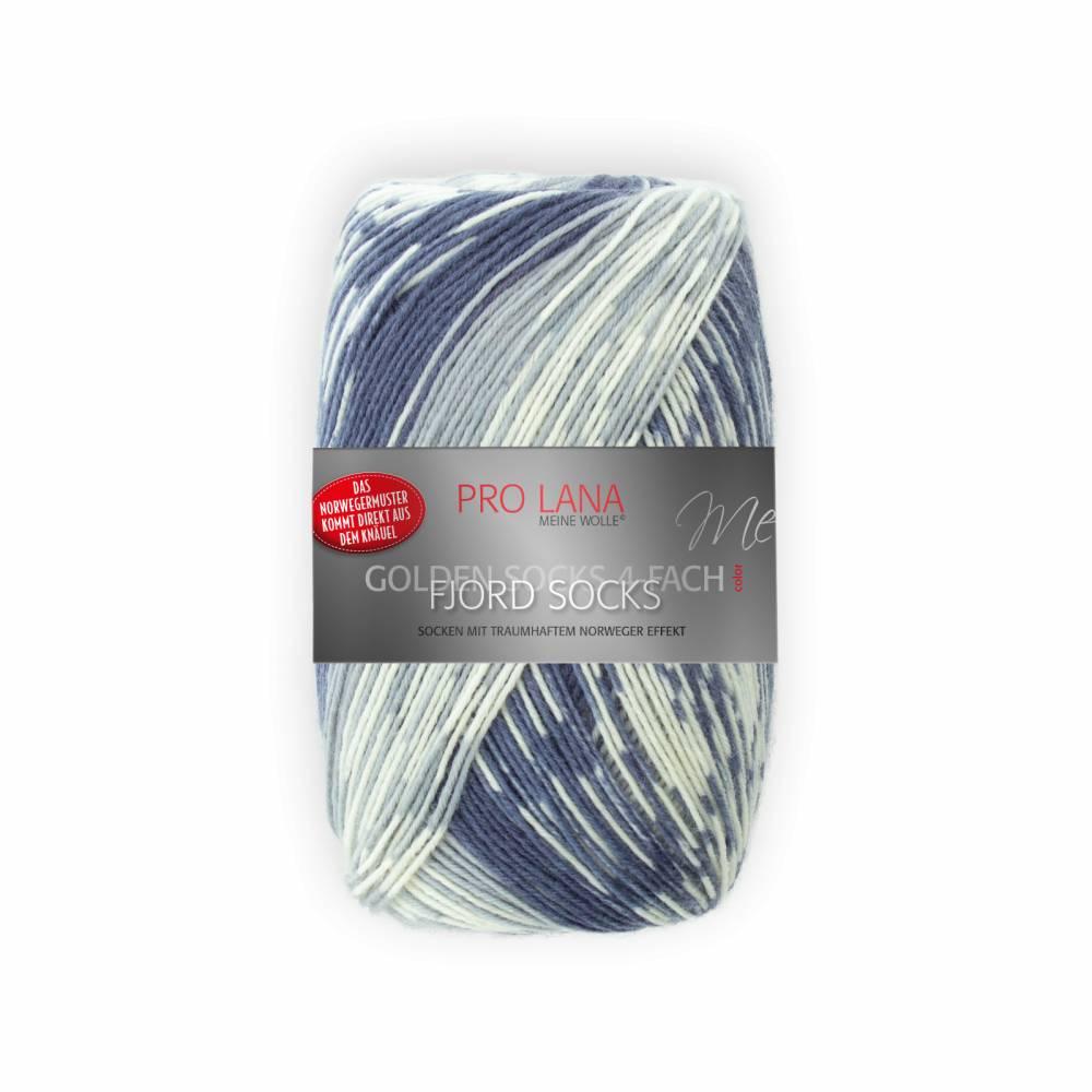 (100g/7,95€) Pro Lana Fjord Socks 191 marine Color 100 g  Bild 1