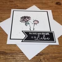Trauerkarte, Beileidskarte, Kondolenzkarte Bild 2