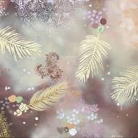 """""""Golden Dream"""" 60 x 80 cm Acrylbild  Bild 1"""