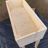 Hochbeet aus Echtholz Bild 5