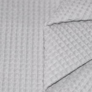ab 50cm Waffelpiqué - 100% Baumwolle Waffelstoff - Baby Bettwäsche, Lätzchen, Schlafsack, Stirnband Bild 3