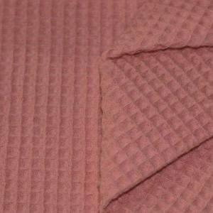 ab 50cm Waffelpiqué - 100% Baumwolle Waffelstoff - Baby Bettwäsche, Lätzchen, Schlafsack, Stirnband Bild 5