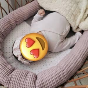 ab 50cm Waffelpiqué - 100% Baumwolle Waffelstoff - Baby Bettwäsche, Lätzchen, Schlafsack, Stirnband Bild 7