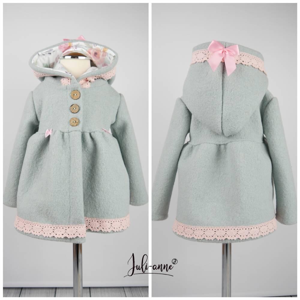 """Walk-Jacke """"Jumi"""" Mint - Rosa  Bild 1"""