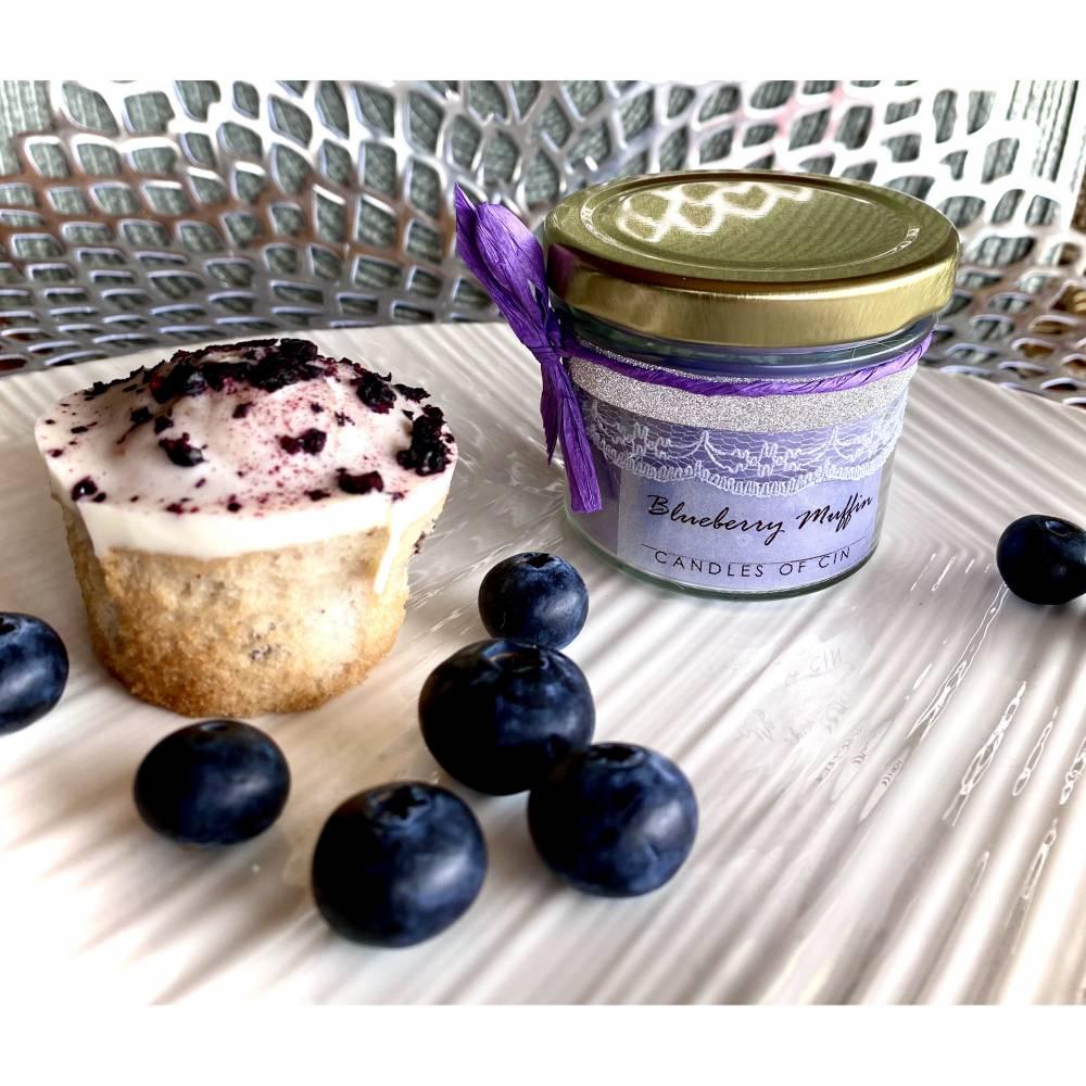 125 ml Duftkerze - Blueberry Muffin Bild 1
