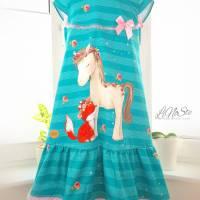 Sommerkleid ❀ Lina&Lenchen ❀ Gr 134/140 Bild 2