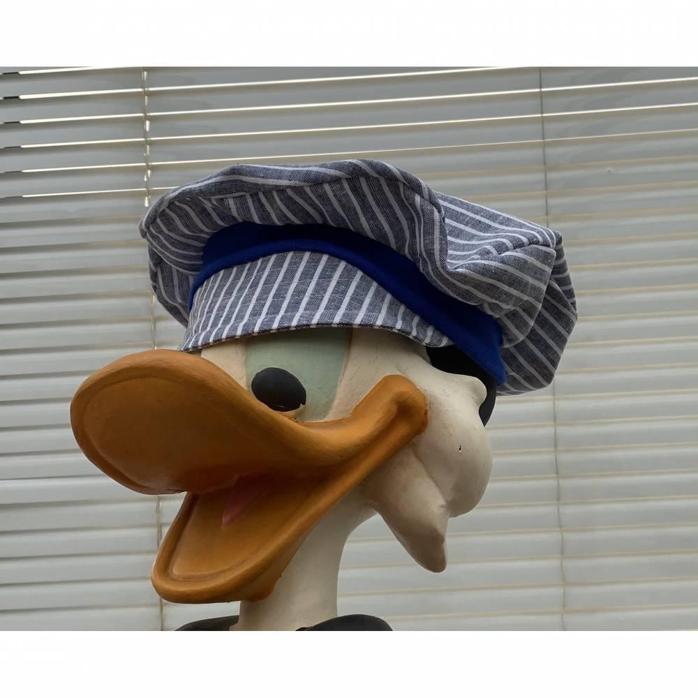 Baskenmütze /  Ballonmütze / Schirmmütze -  Leinenmix  - in mehreren Größen und Farben erhältlich Bild 1