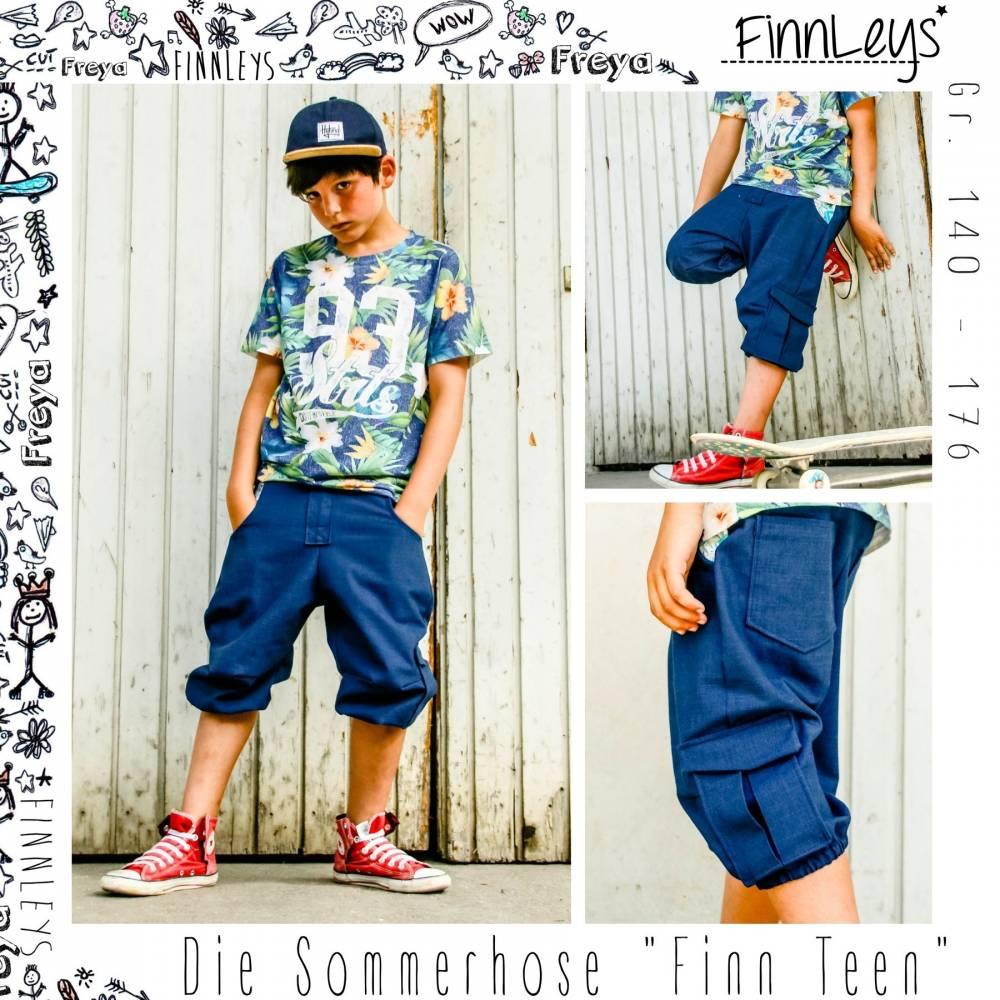 """Finn Teen"" die Sommerhose Gr. 140 – 176 Bild 1"