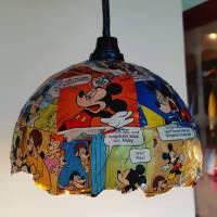 Es werde Licht, Comic Lampenschirm Bild 1