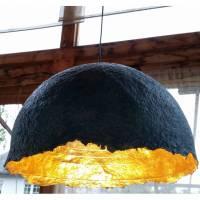 Upcycling Design Lampenschirm XL UNIKAT Bild 1