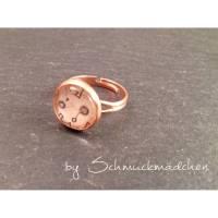 Ring Rosegold Blume Bild 1