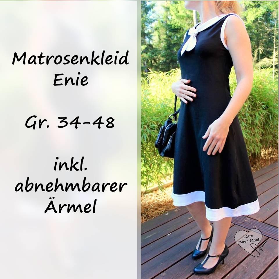 eBook Matrosenkleid Enie Gr. 34-48 inkl. Ärmel Bild 1