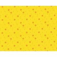 Baumwollstoff Westfalenstoffe Junge Linie Blümchen gelb Bild 1