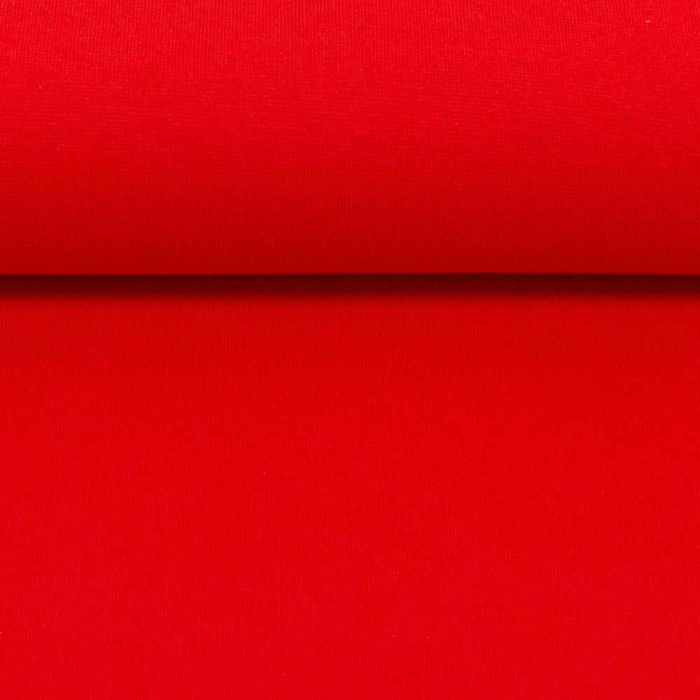 Feinstrick Bündchen, rot Bild 1
