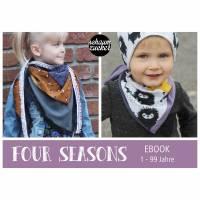 Ebook - Tuch * four seasons * Alter 1 - 99 - ideal für Musselin
